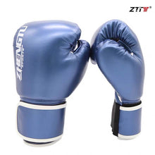 Load image into Gallery viewer, ZTTY Boxing Gloves Women Training PU Sanda Kickboxing Mitts Muay Thai Fighting Sandbags Guantes De Boxeo Kickboxing Gloves Men