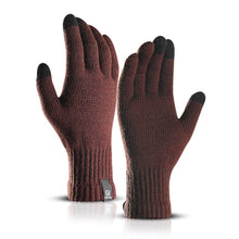 Load image into Gallery viewer, Winter Warm Men Women Touch Screen Knitted Gloves Fashion Simple Solid Color Wool Gloves Plus Velvet Students Korean Version
