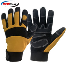 Load image into Gallery viewer, Safety Gloves Working Hand-type Gloves Protective Welding Garden Antistatic Fishing Gloves Work Gloves For Men