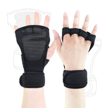 Load image into Gallery viewer, 1 pair of weightlifting training gloves men and women fitness sports hand grip palm protection non-slip rider protective sleeve