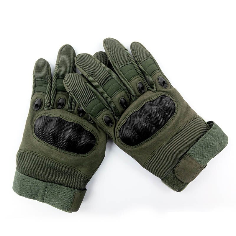 MAGCOMSEN Tactical Gloves Men Airsoft Military Paintball Gloves Army Carbon Hard Knuckle Full Finger Combat Gloves AG-YWHX-018