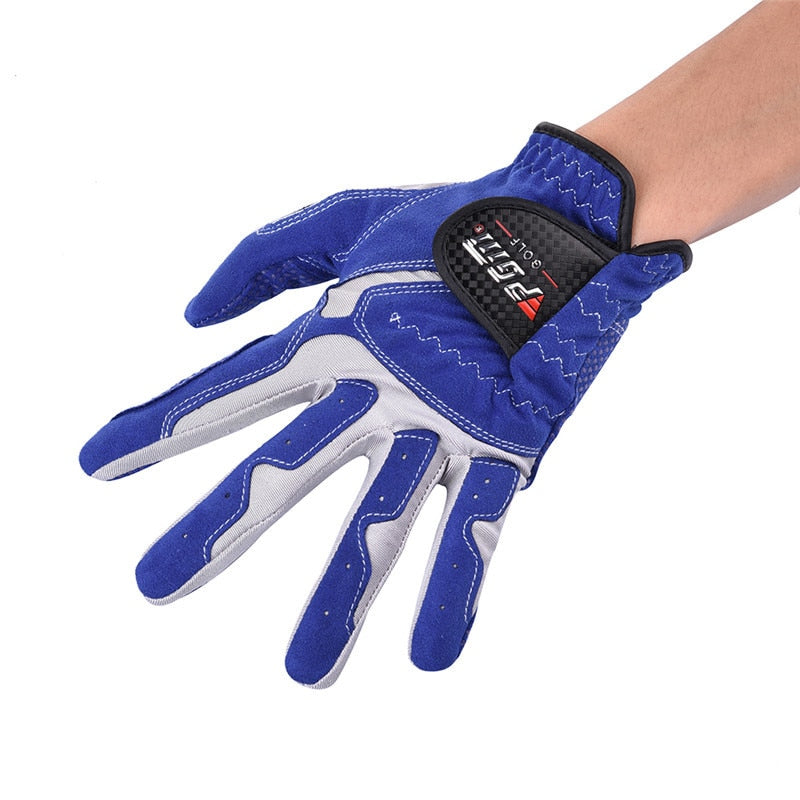 Golf Gloves Men Wear Left Hand Sweat Absorbent Microfiber Cloth Soft Breathable Abrasion Gloves
