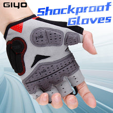 Load image into Gallery viewer, GIYO Summer Cycling Gloves Gel Half Finger Shockproof Sport Gym Gloves MTB Mountain Bicycle Bike Gloves For Men/women Antil-skip