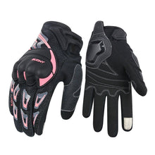 Load image into Gallery viewer, SUOMY motorcycle gloves women men summer breathable Pink touch screen moto gloves for motocross motorbike Racing Riding