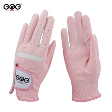 Load image into Gallery viewer, 1 pair GOG GOLF GLOVES Professional Breathable Pink Soft Fabric For women left and right hand