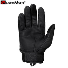 Load image into Gallery viewer, MAGCOMSEN Tactical Gloves Men Airsoft Military Paintball Gloves Army Carbon Hard Knuckle Full Finger Combat Gloves AG-YWHX-018