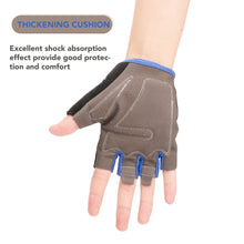 Load image into Gallery viewer, Half Finger Cycling Bike Gloves with Absorbing Sweat Design for Men and Women Bicycle Riding Outdoor Sports Accessories