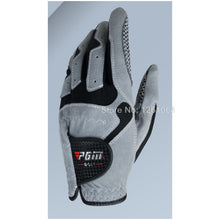Load image into Gallery viewer, GOLF GLOVES Men's Glove Micro Fiber Soft white blue gery 3color Left Hand Anti-skidding Non slip particles Breathable Golf Glove