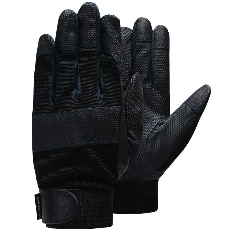 QIANGLEAF Brand Men's Garden Work Gloves Safety Protective Gloves Fashion Sport High Quality Drive Gloves 3052
