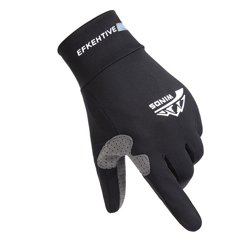 Ice Silk Light Gloves Summer Thin Men Sports Cycling Running Fitness Driving Outdoors Fishing Women Non-Slip Touch Screen Gloves