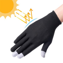 Load image into Gallery viewer, Sun Protection Summer Thin Short Outdoor Mountaineering Gloves Breathable Driving Bikes Men Women Touch Screen Gloves
