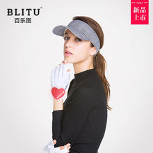 Load image into Gallery viewer, BLITU Women's Golf Gloves Left and Right Hand Granules Anti-slip Guantes Breathable Golf Gloves for Ladies