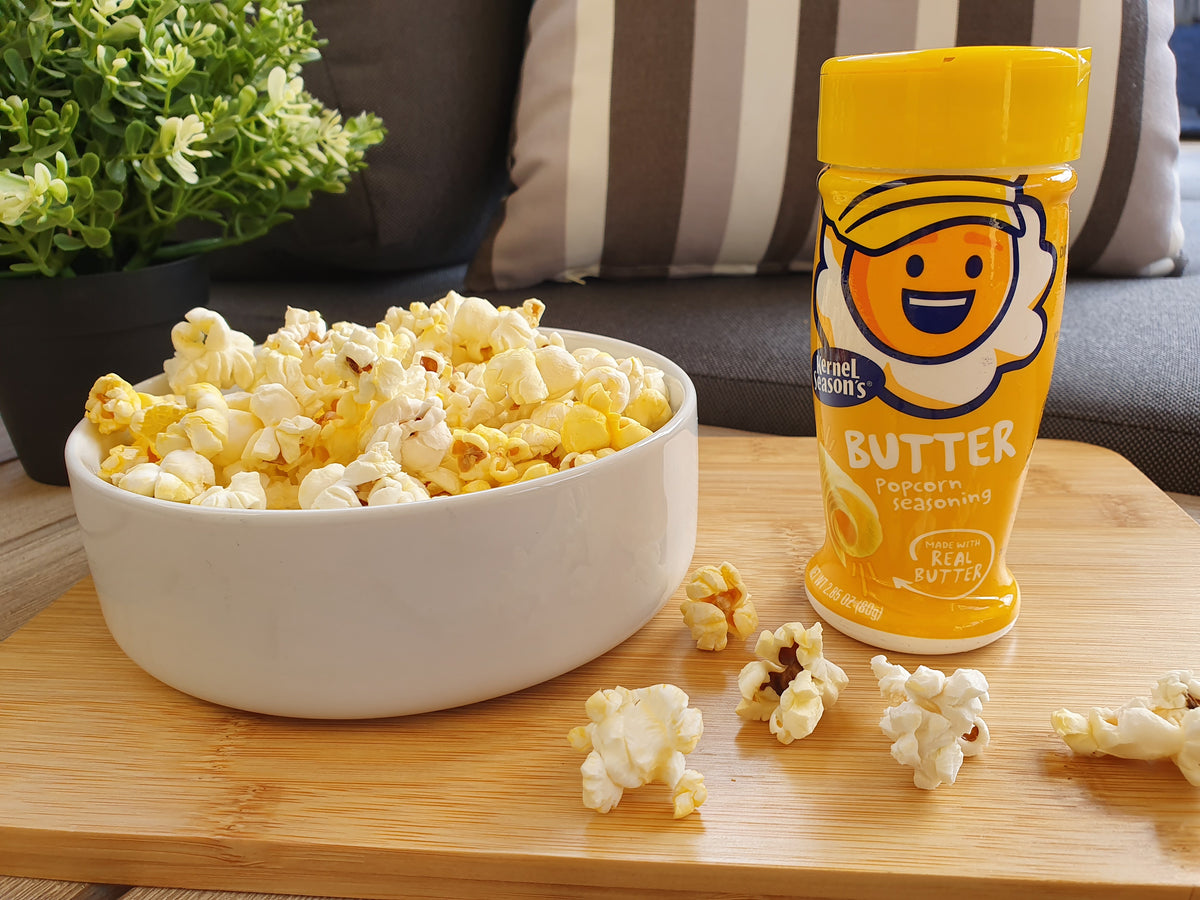 Kernel Season S Popcorn Seasoning Salt Butter 2 85oz 80g Poppincoaus