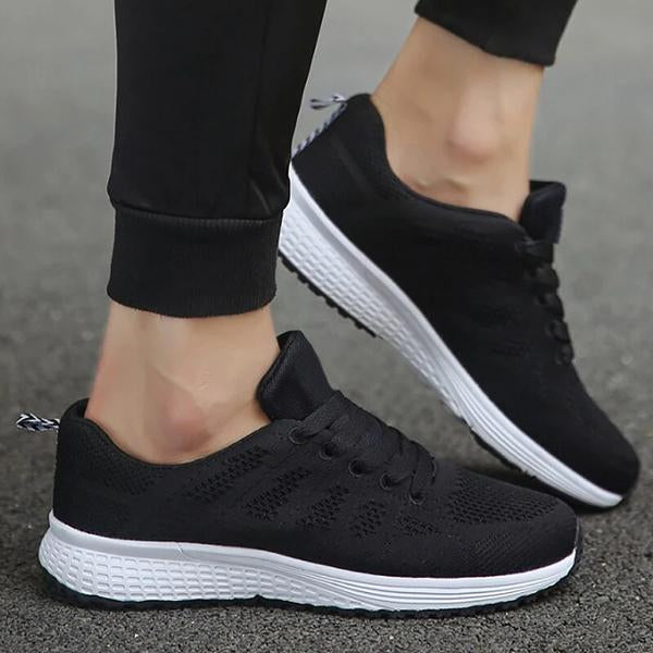 Lemmikshoes Women Air Mesh  Shallow Casual Sneakers