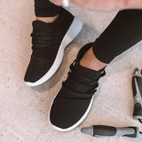 Lemmikshoes Black Simple Casual Sneakers