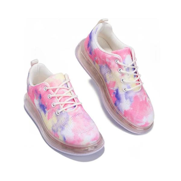 Lemmikshoes Color Lace Up Sneakers