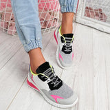 Lemmikshoes Multicolor Trainers Lace-Up Sneakers