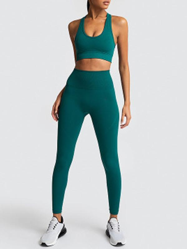 Lemmikshoes Seamless Knitted Yoga Top