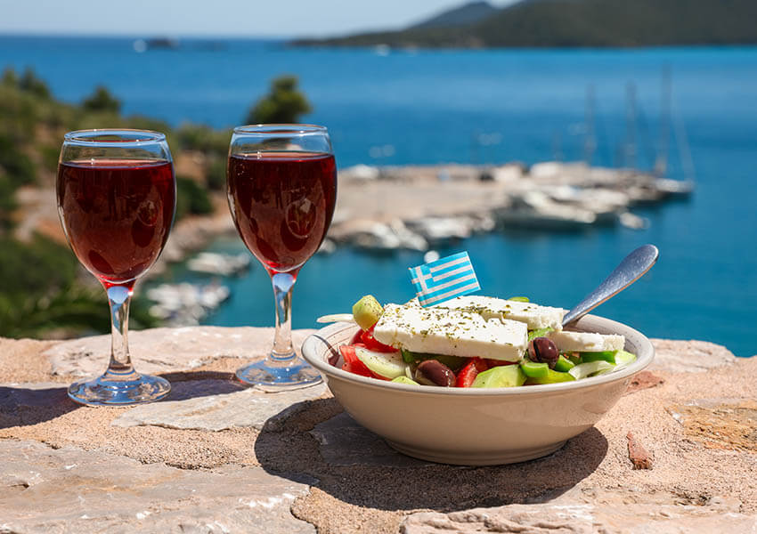 Greek Cheese and Wine Pairings