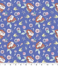 Load image into Gallery viewer, Little Mermaid Reversible Cloth Face Mask