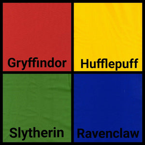 Kawaii Hogwarts Houses Reversible Cloth Face Mask