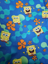 Load image into Gallery viewer, Spongebob Reversible Cloth Face Mask