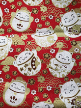 Load image into Gallery viewer, Lucky Cat Reversible Cloth Face Mask
