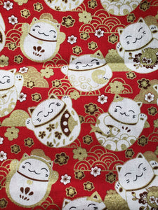 Lucky Cat Reversible Cloth Face Mask