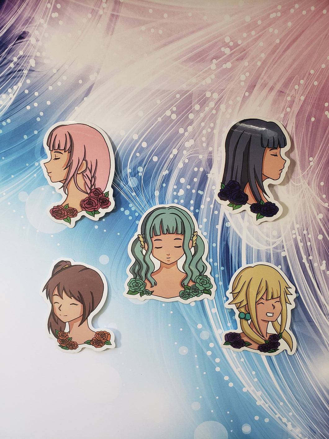 Magia Record Stickers