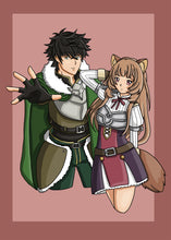 Load image into Gallery viewer, 5x7 Rising of the Shield Hero Inspired Print