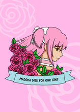 Load image into Gallery viewer, 5x7 Madoka Magica Inspired Prints