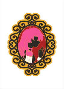 5x7 Revolutionary Girl Utena Inspired Prints