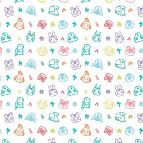 Animal Crossing New Horizons Reversible Cloth Face Mask