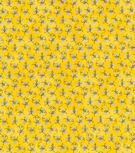 Load image into Gallery viewer, Yellow Bees Reversible Cloth Face Mask