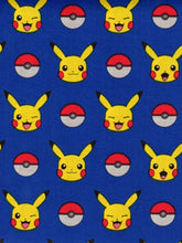 Load image into Gallery viewer, Pokeball Pikachu Reversible Cloth Face Mask
