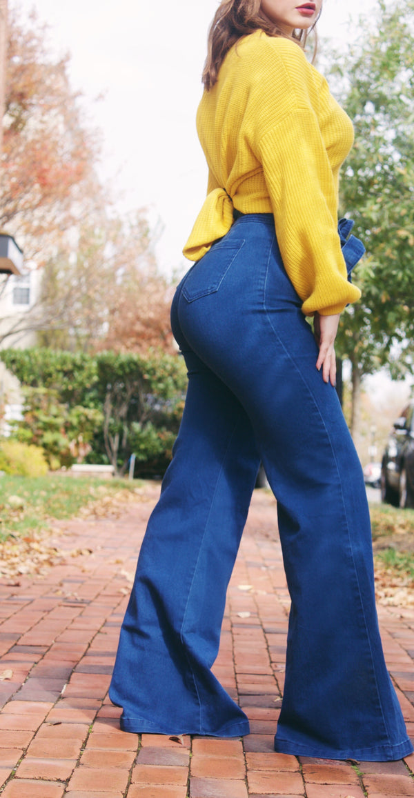 Amuse Wide Leg Denim