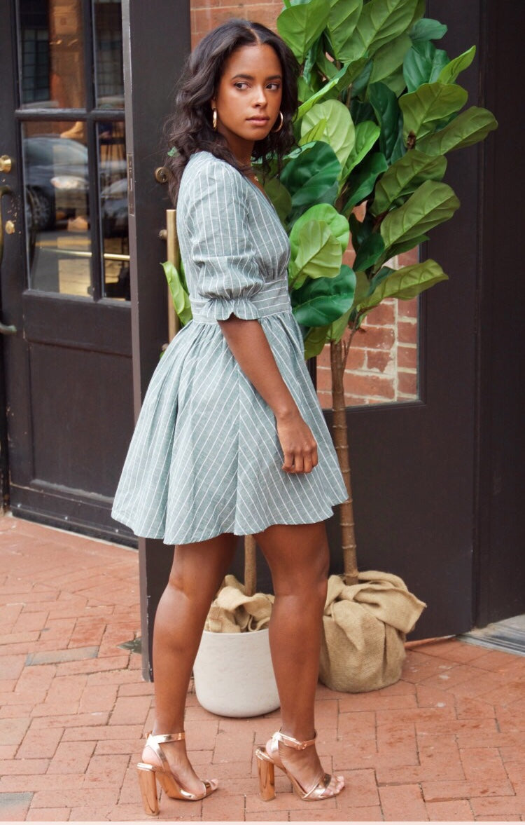 Cubana Billy Stripe Dress