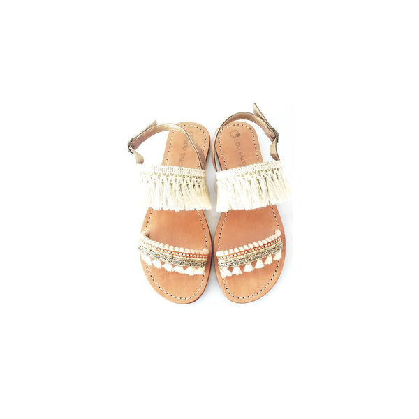 Leather sandals ror women - Sandales  cuir  femme