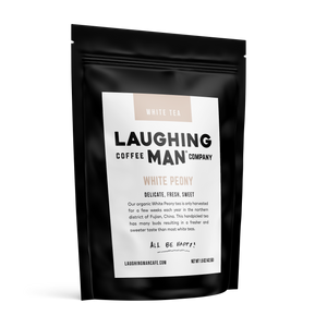 White Peony tea by Laughing Man Coffee Company