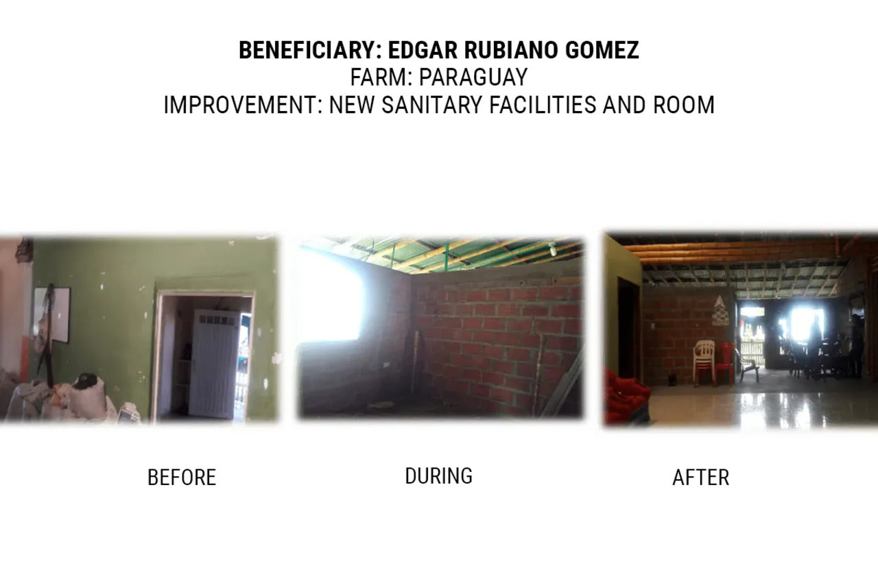 Laughing Man Foundation Colombia Home Renovations