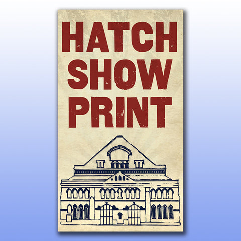 Hatch Show Print for Jimmie Allen Live at the Ryman