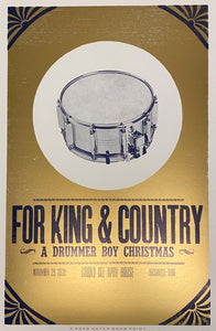 for KING & COUNTRY Christmas - Hatch Show Print
