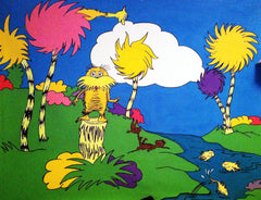 "Dr. Seuss Inspired ""Lorax"" Mural - small"
