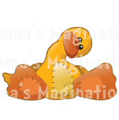 Children's Room Duck Removable & Reusable Vinyl Decal
