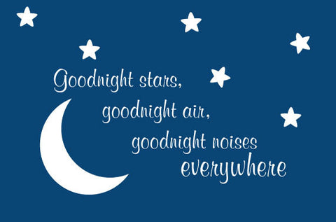 Children's Goodnight Moon Removable & Reusable Vinyl Decal