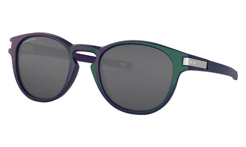 OAKLEY LATCH (A) FRAME: GREEN/PURPLE SHIFT LENS: PRIZM BLACK POLARIZED