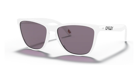 OAKLEY FROGSKINS FRAME: POLISHED WHITE/LENS: PRIZM GREY
