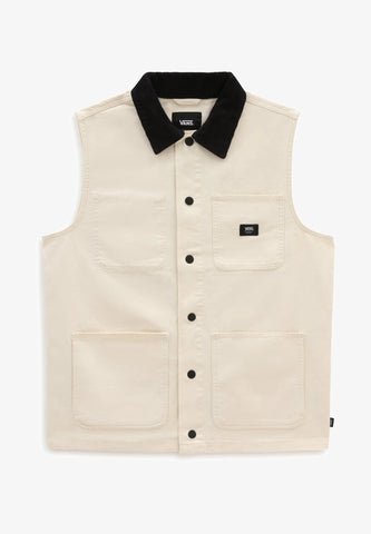 VANS DRILL CHORE VEST SEED PEARL