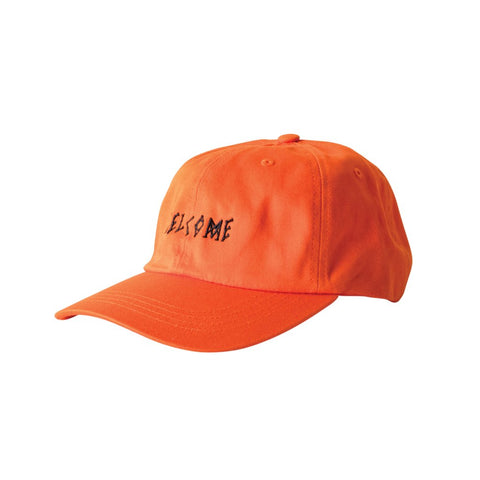 WELCOME SCRAWL DAD HAT ORANGE/BLACK