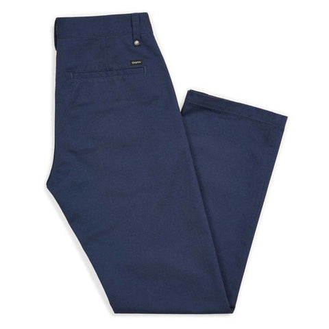 BRIXTON LABOR CHINO PANT WASHED NAVY